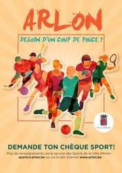 """Affiliation à un club sportif : la Ville d'Arlon propose les """"chèques sport"""""""