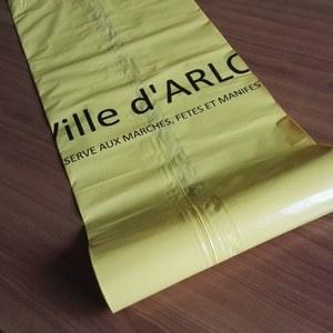 Arlon : un sac poubelle jaune pour les commerçants