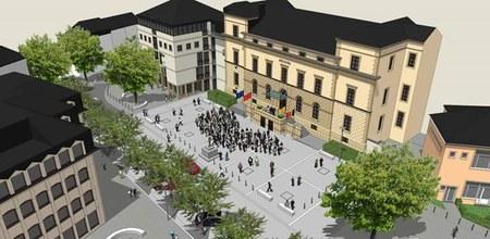 Avant projet d'aménagement de la rue Paul Reuter