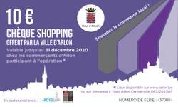 Chèques Shopping : liste des commerces concernés par l'action