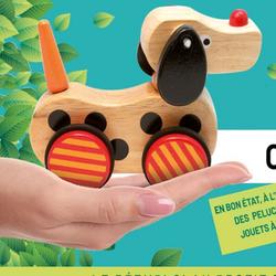 Collecte des jouets au Recyparc d'Arlon