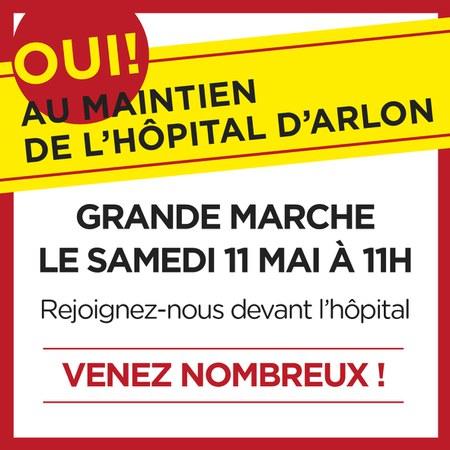 Cri d'alarme des médecins de l'hôpital d'Arlon