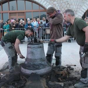 Eglise Saint-Martin : une nouvelle cloche pour la tour de croisée