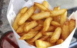 Frite suspendue à Arlon