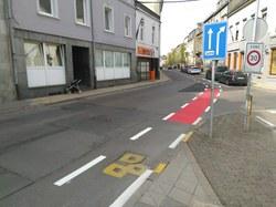 Lancement d'un test – création de pistes cyclables en ville