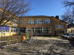 Les travaux sont en cours à l'école du Centre