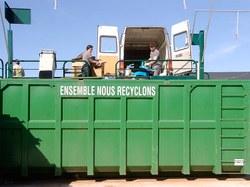 Modalités d'ouverture des recyparcs