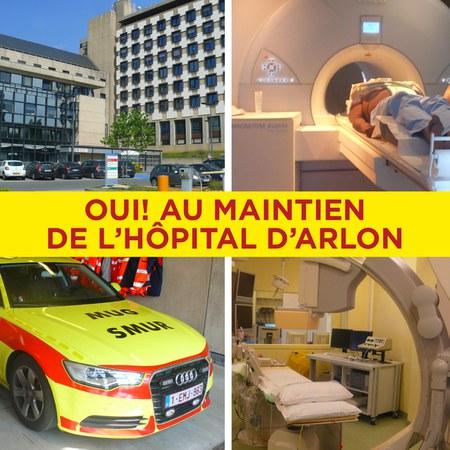 Motion relative au maintien de l'hôpital d'Arlon