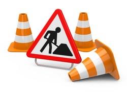 N4 Arlon : chantier d'aménagement d'un giratoire au carrefour du Liedel : nouvelles mesures de sécurisation