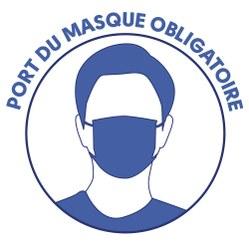 Obligation de port du masque sur les marchés et brocantes (COVID-19)