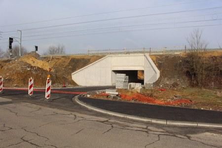 Passage sous voies opérationnel à Stockem