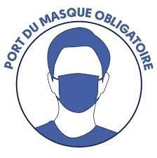 Port du masque obligatoire dans certaines rues à Arlon