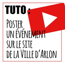 NOUVEAU : Postez votre événement sur le site de la Ville d'Arlon