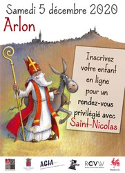 Rencontre virtuelle avec Saint-Nicolas