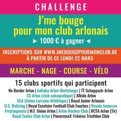 Soutenez vos clubs sportifs et aidez-les à remporter 1.000€