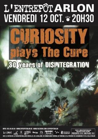 Concert CURIOSITY (TRIBUTE THE CURE)