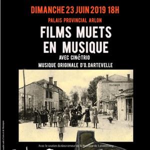 Films muets en musique par le Cinétrio