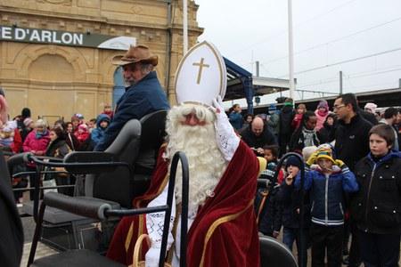 Joyeuse entrée de saint Nicolas