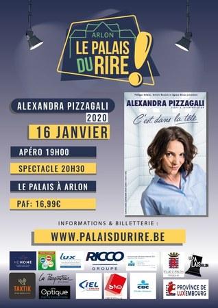 Le Palais du Rire || Alexandra Pizzagali
