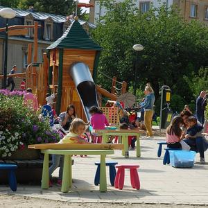 L'été au parc Léopold