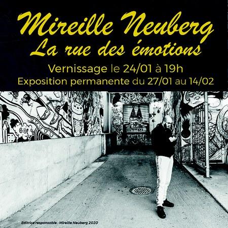 EXPO PHOTO - Mireille Neuberg - Vernissage - La rue des émotions