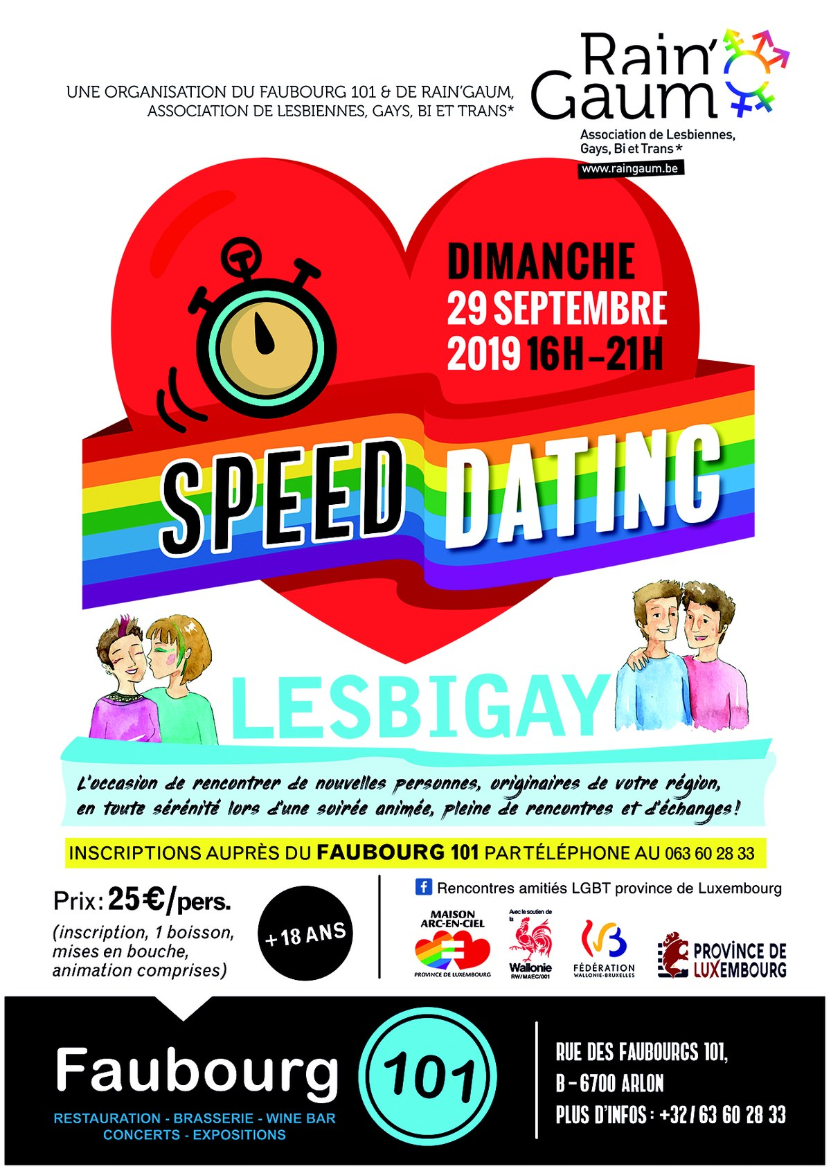 Speed rencontres conseils gay