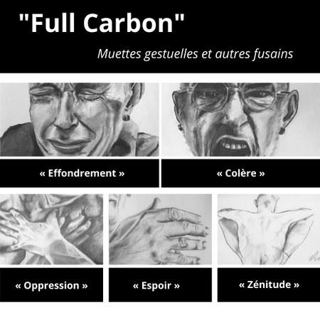 "Vernissage ""Full Carbon"" par Gaviot"