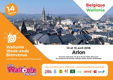 Wallonie week-end Bienvenue